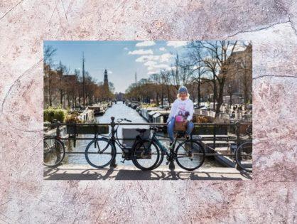 Actie fietstocht Evelien