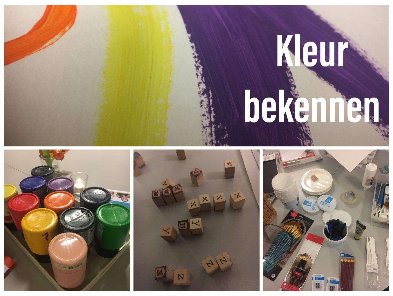 Workshop: Kleur Bekennen (schilderen én schrijven)